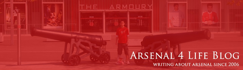 Arsenal 4 Life Blog | Arsenal News, Match Reports, Previews, Opinions, Fans Forum